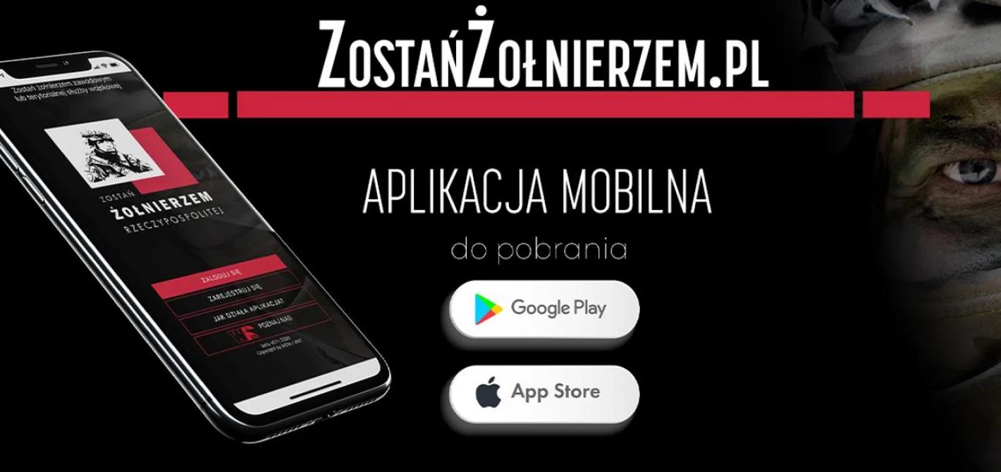 aplikacja mobilna ZOSTAŃ ŻOŁNIERZEM