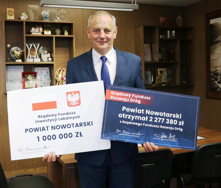 Powiat Nowotarski otrzymał rządowe dofinansowania. 1 mln zł - na przebudowę SOR-u