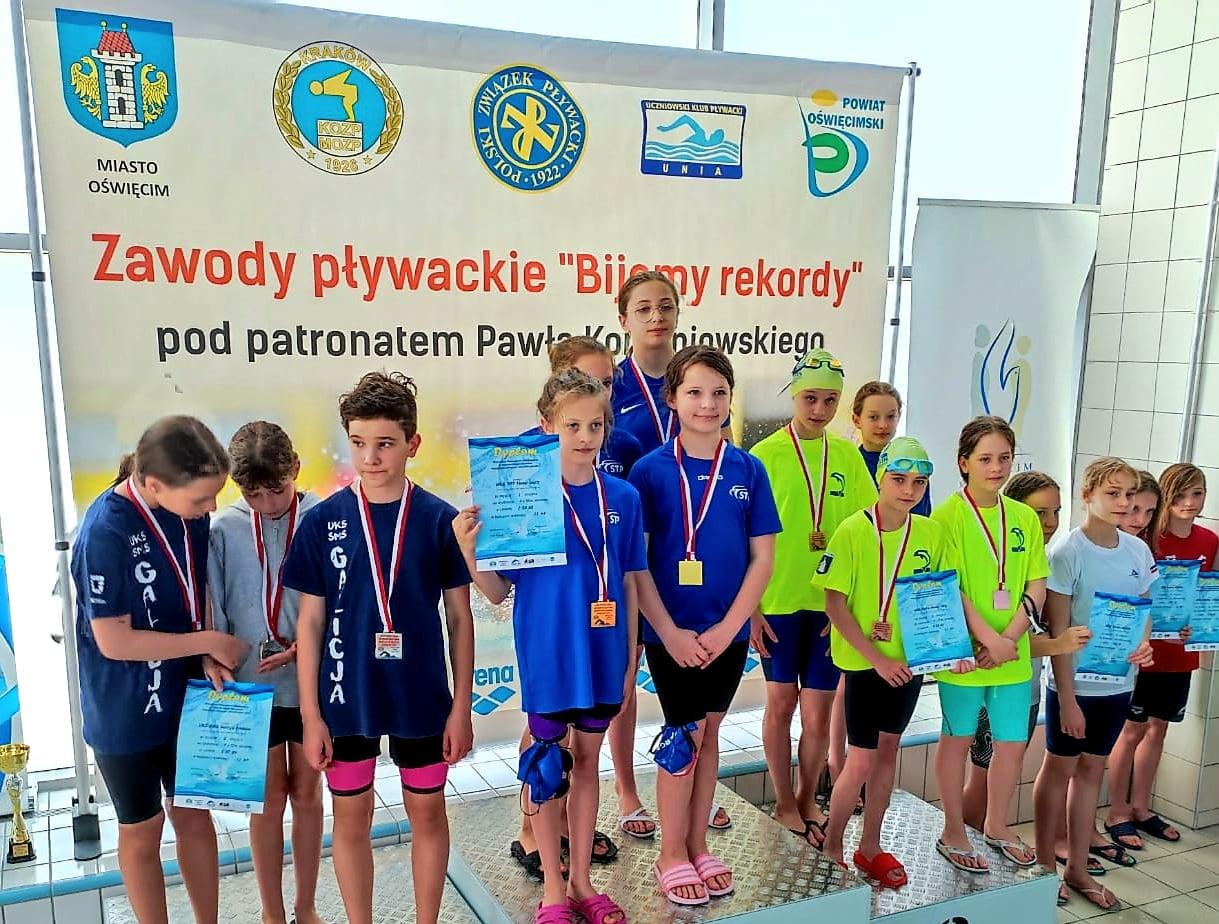 Sukcesy UKS Delfin na Letnich Mistrzostwach Województwa Małopolskiego