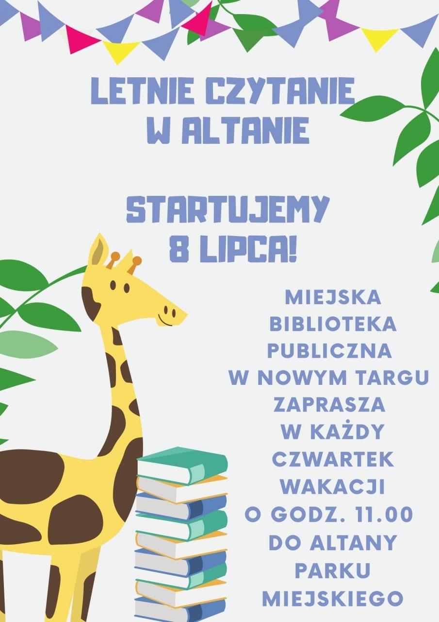 Letnie Czytanie w Altanie 2021