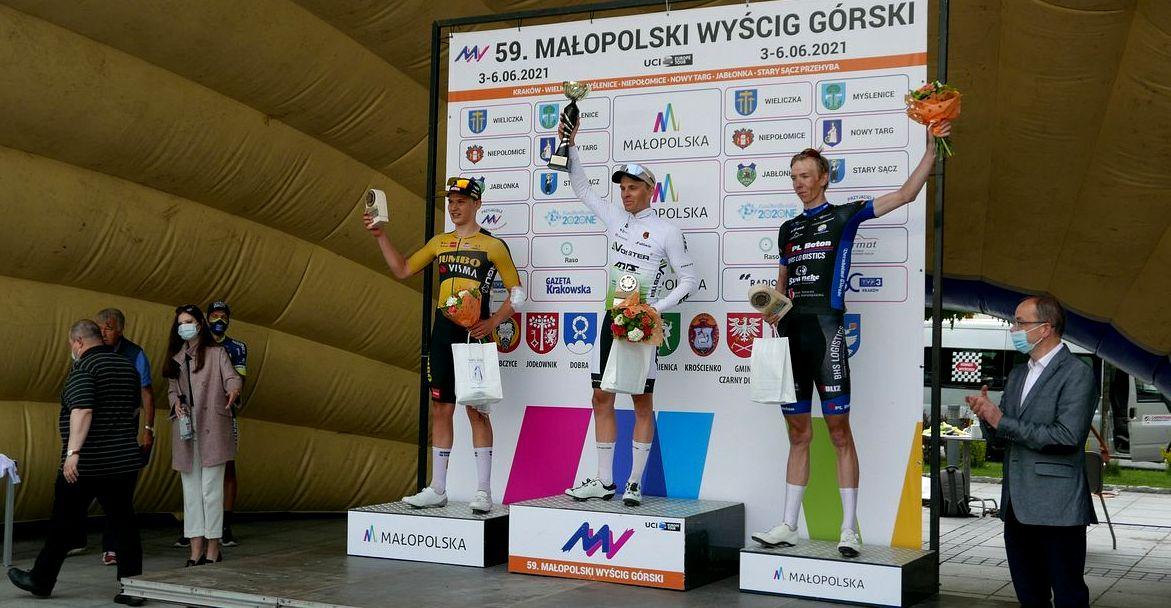 Patryk Stosz – zwycięzcą na najdłuższym odcinku Małopolskiego Wyścigu Górskiego