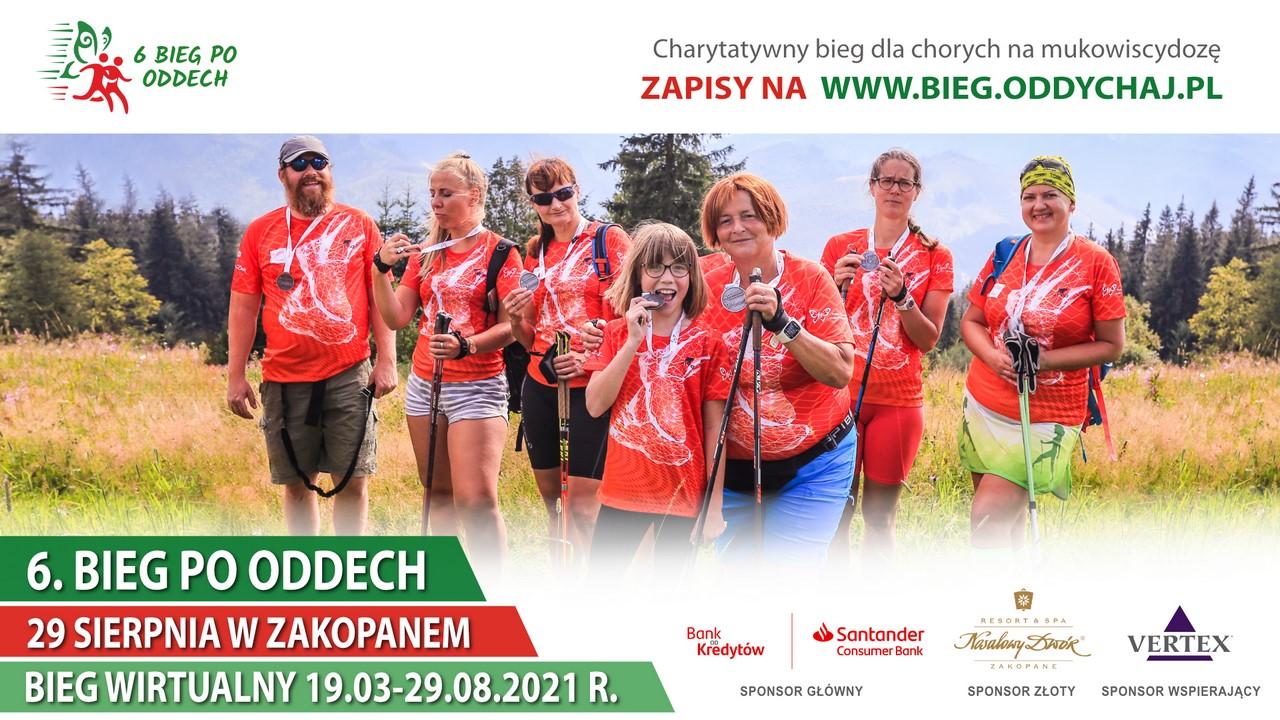 6. edycja Biegu po Oddech w tym roku również ulicami Zakopanego!