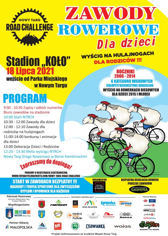 Zawody rowerowe dla dzieci - 18 lipca