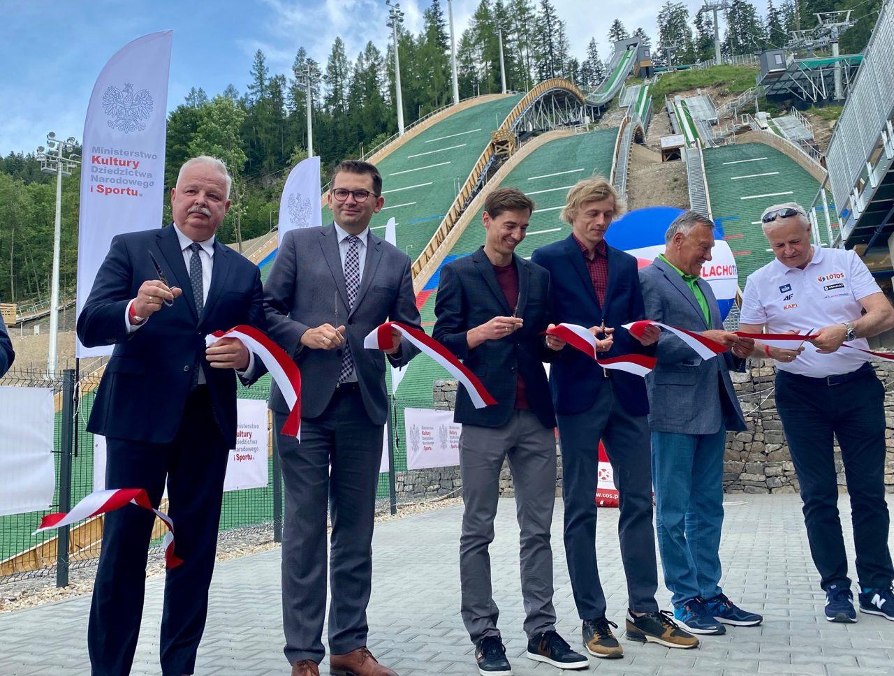 Kompleks skoczni narciarskich Średnia Krokiew otwarty!