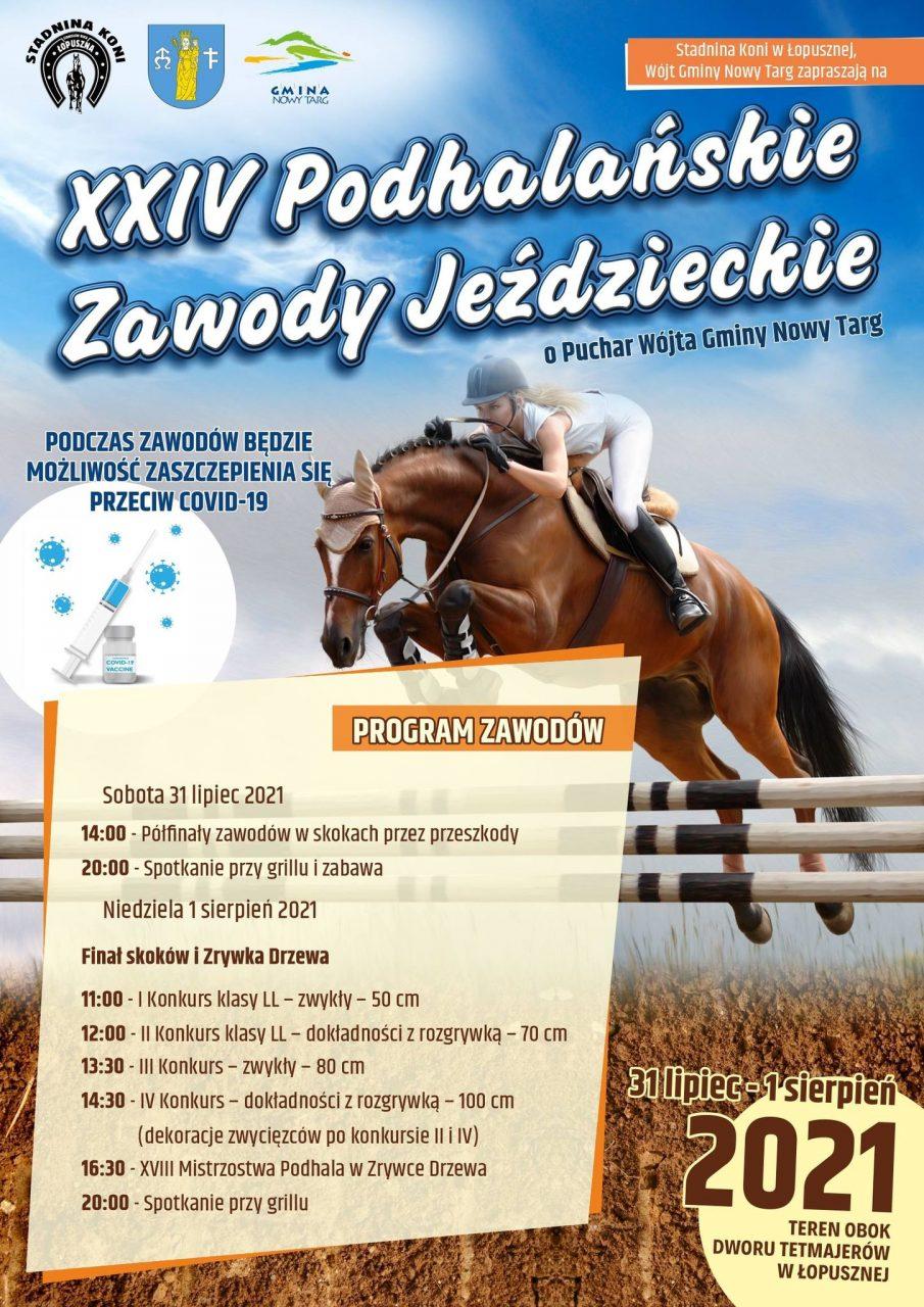 XXIV Podhalańskie Zawody Jeździeckie