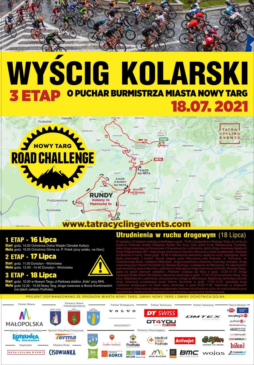 Nowy Targ Road Challenge 2021 - już w ten weekend!