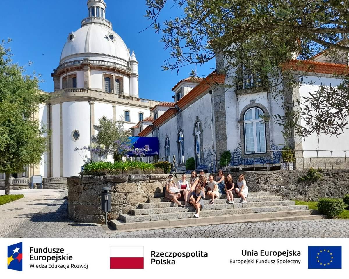 Uczniowie ZSCKR w słonecznej Portugalii!