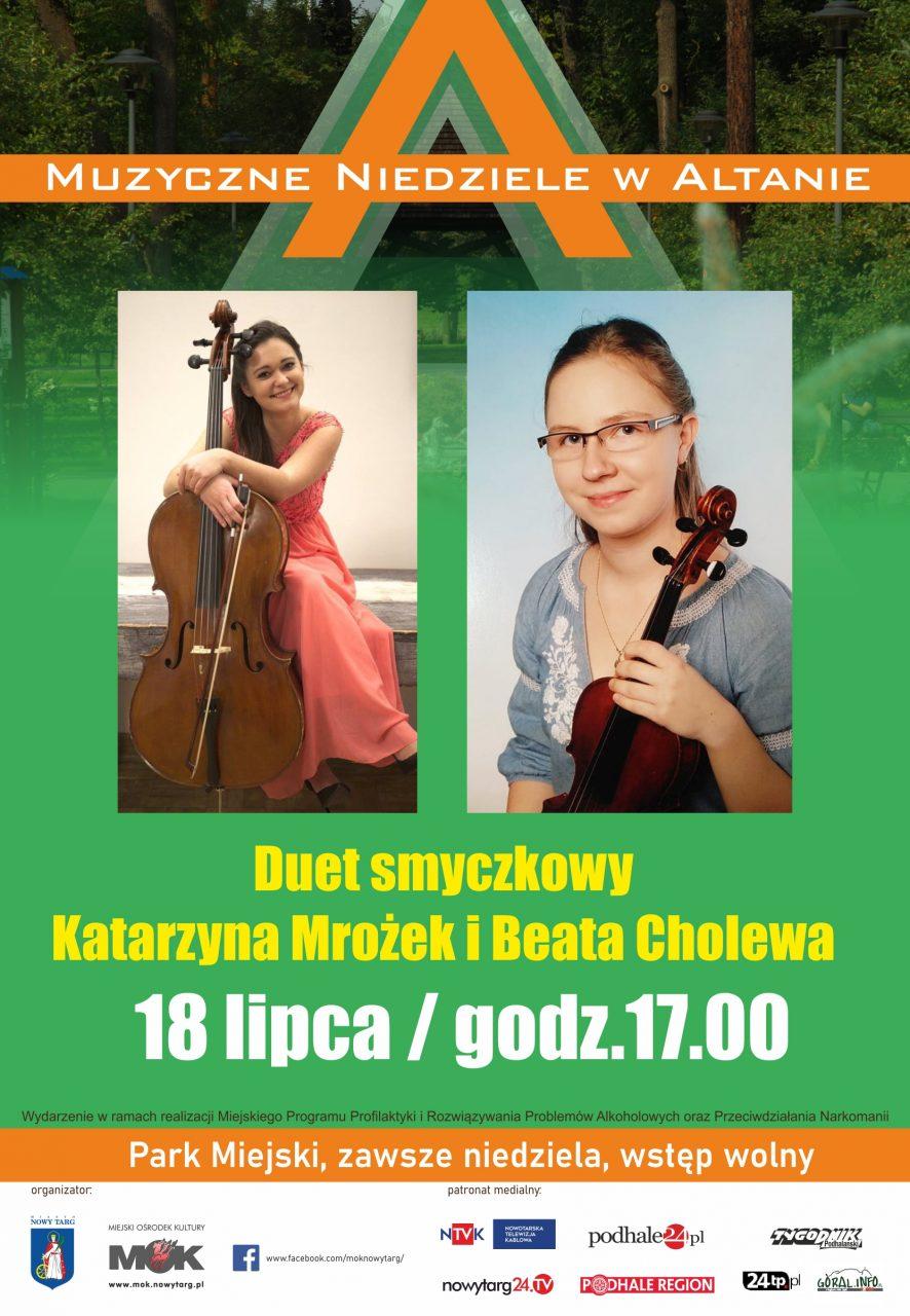 Katarzyna Mrożek i Beata Cholewa w Altanie