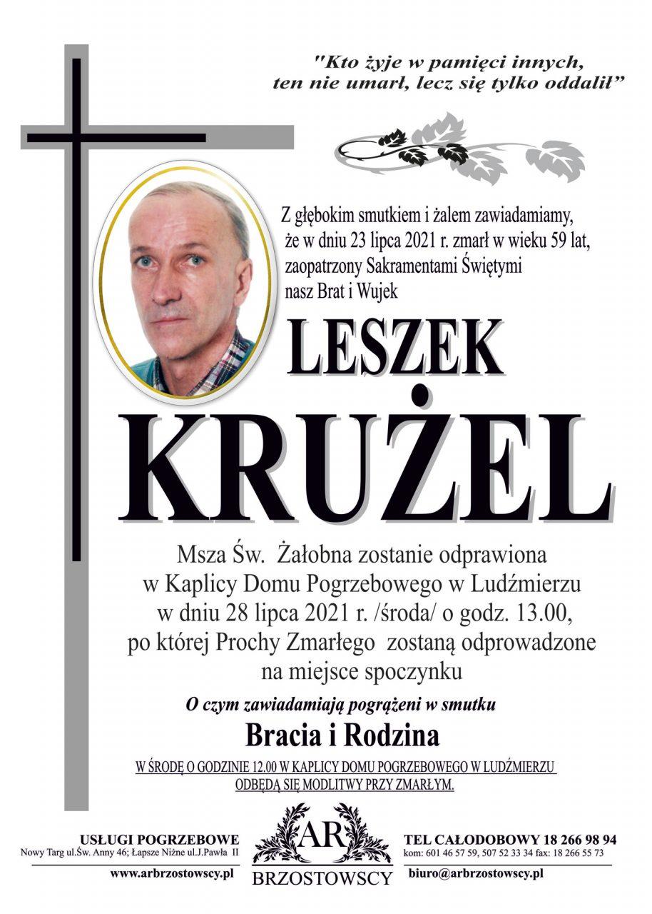 Leszek Krużel