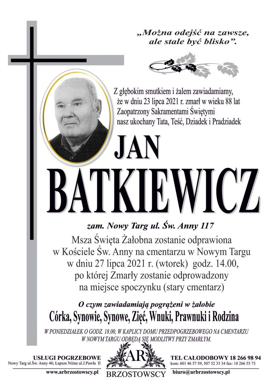 Jan Batkiewicz