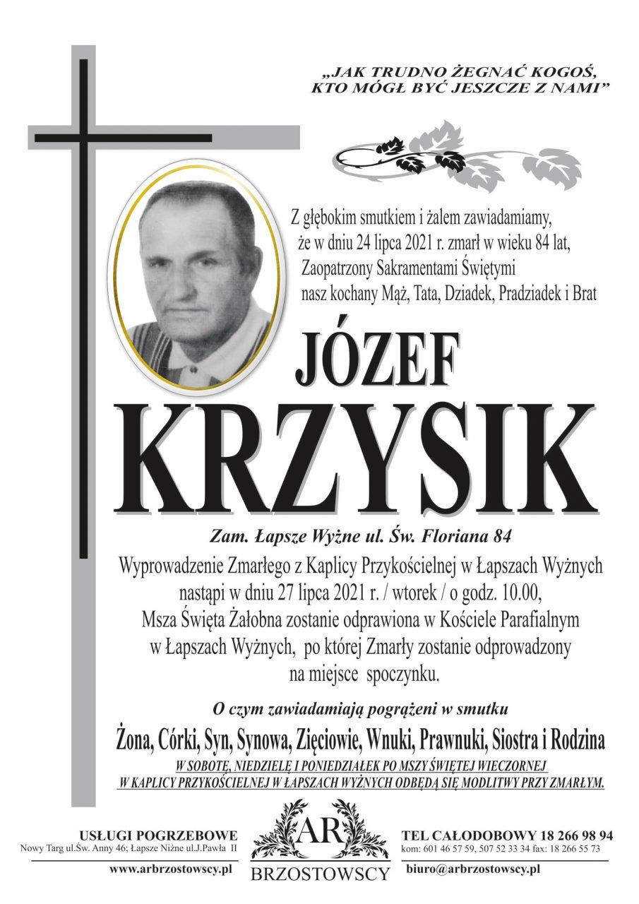 Józef Krzysik