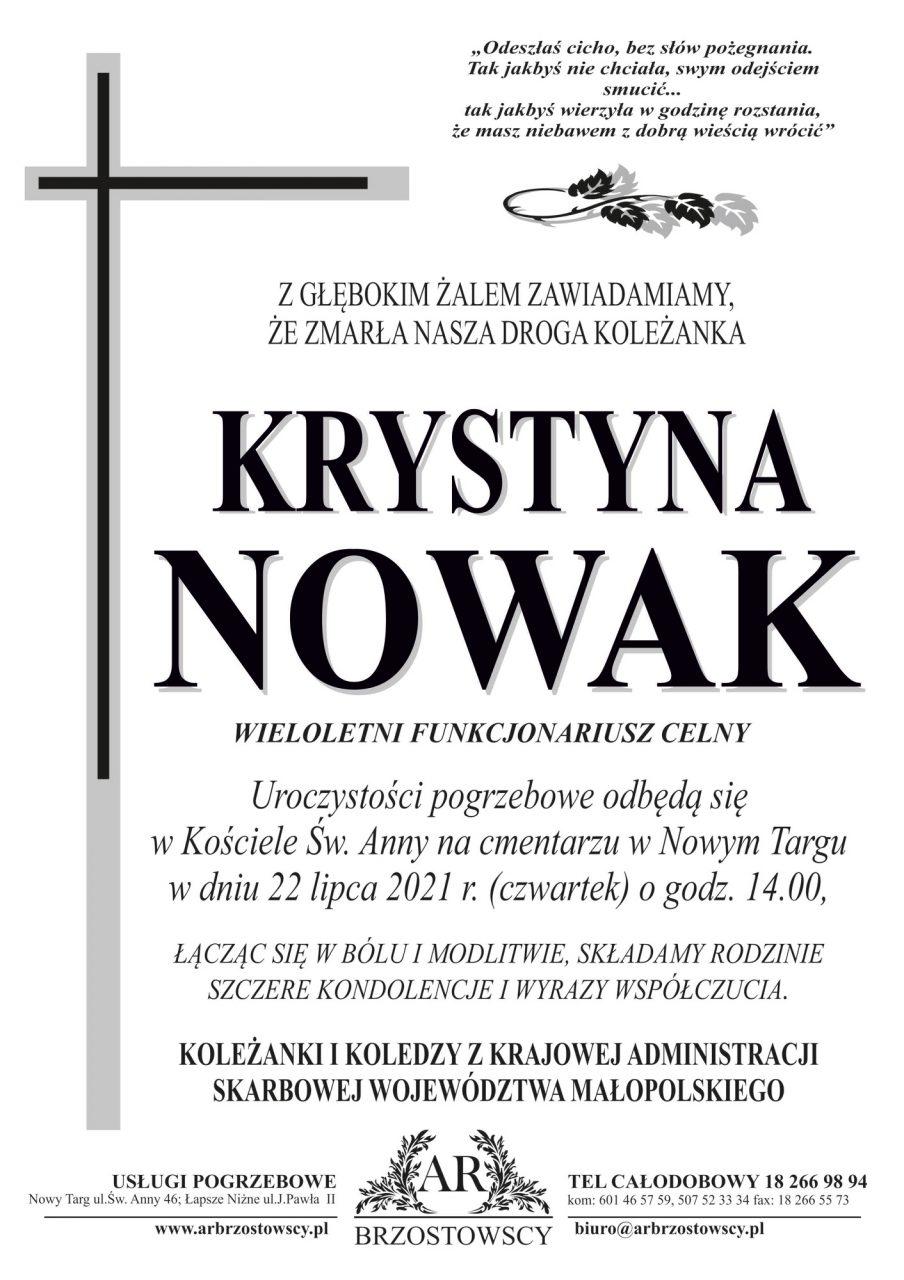 Krystyna Nowak