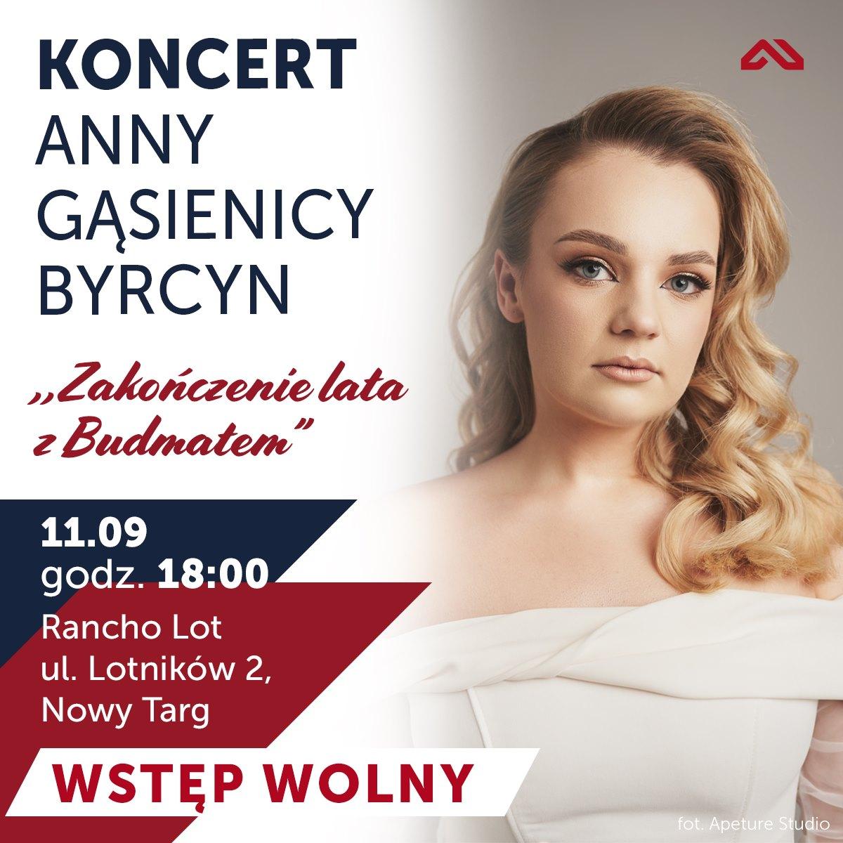 Ania Byrcyn wystąpi w Nowym Targu
