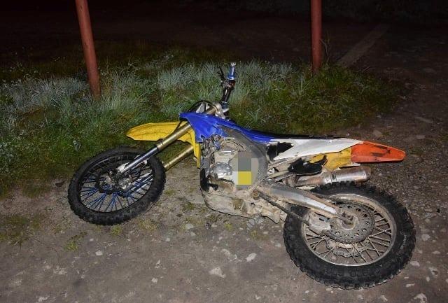 Tylko w jeden wieczór - aż  dwa wypadki z udziałem motocykli