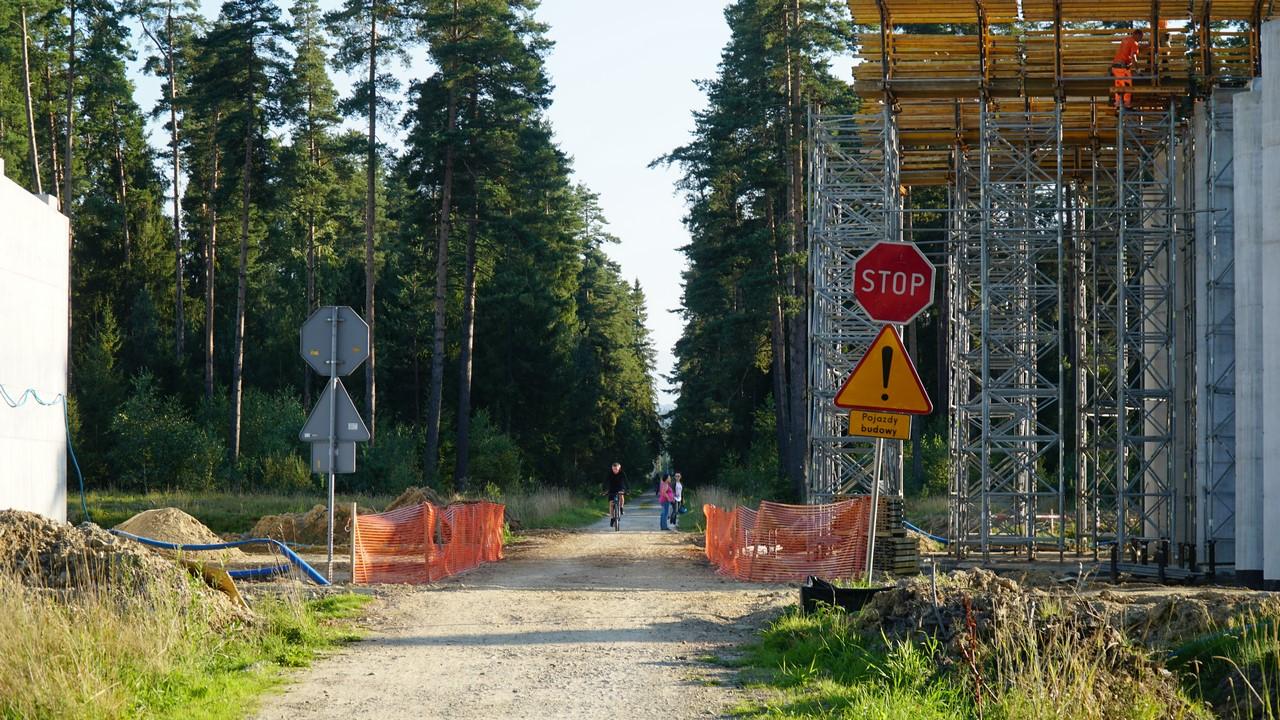 Szlak wokół Tatr - z utrudnieniami jeszcze do końca października