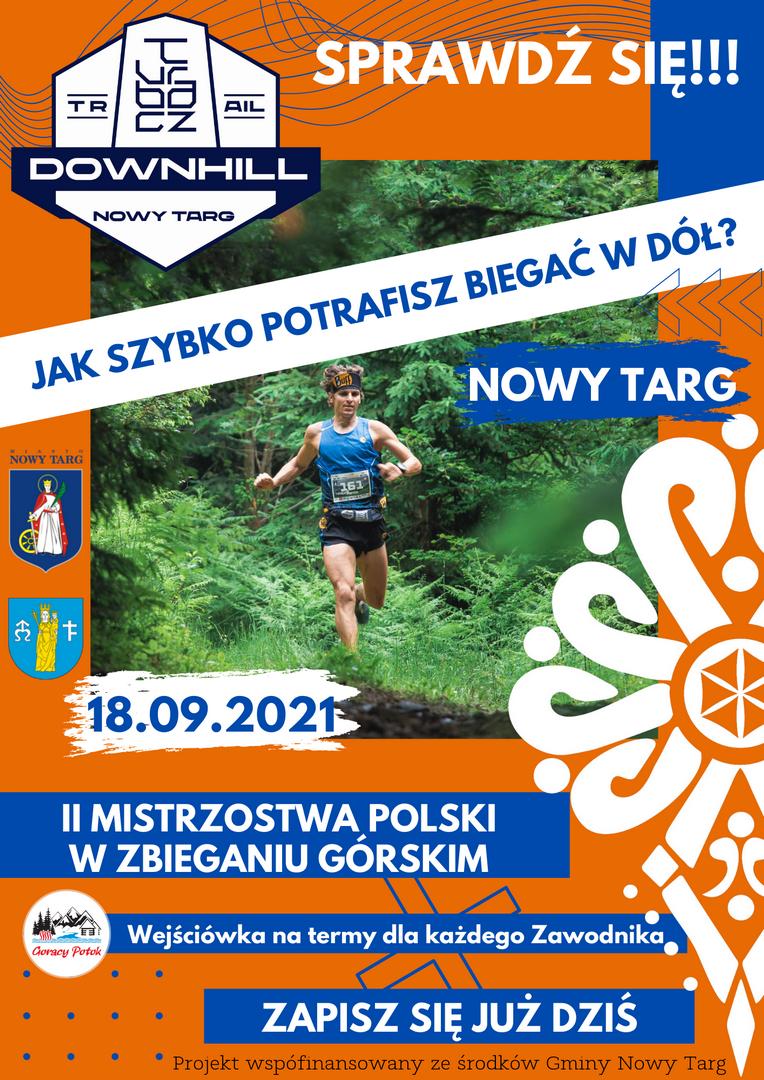 Mistrzostwa Polski w zbieganiu górskim Turbacz Downhill - już w tę sobotę!