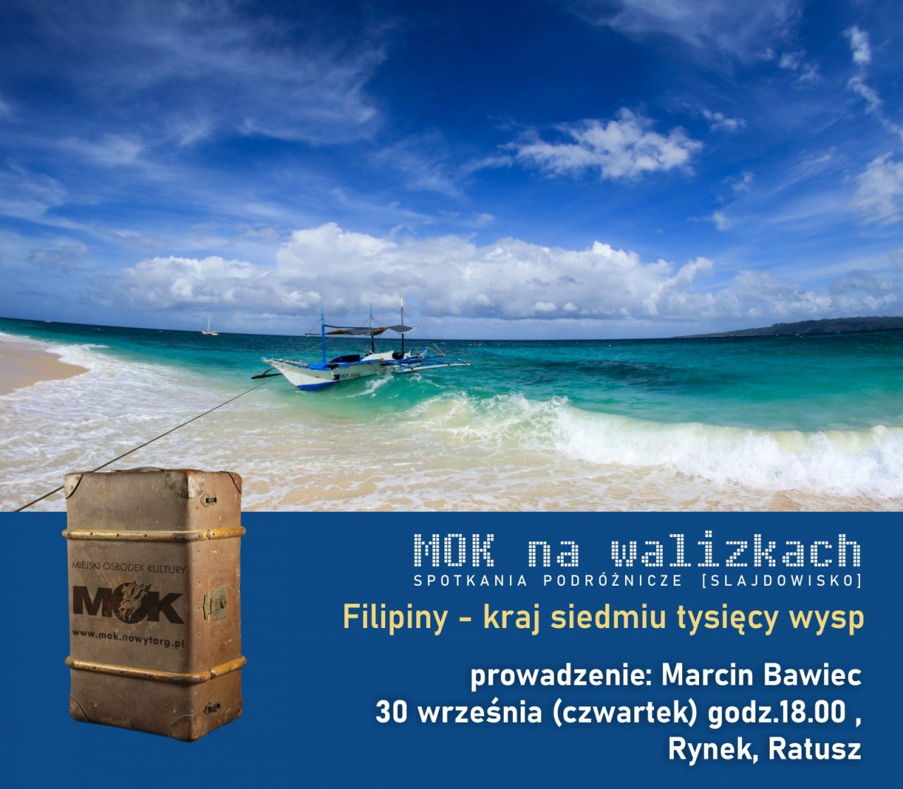 MOK na walizkach tym razem na Filipinach