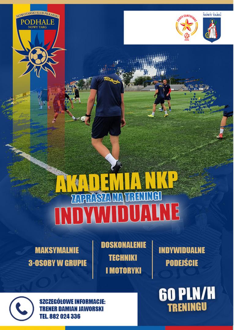 Akademia NKP zaprasza na treningi indywidualne