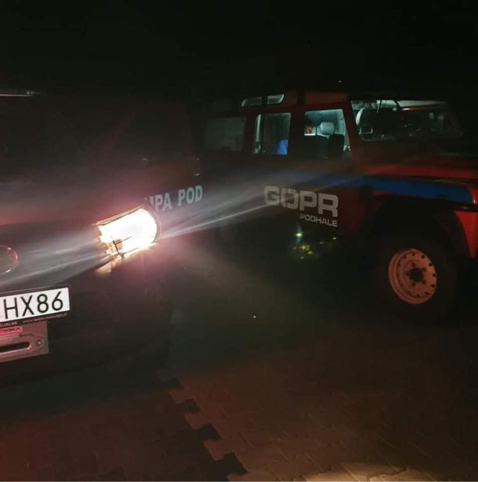 Kierowca quada ugrzązł w trudnym terenie w rejonie Podczerwonego