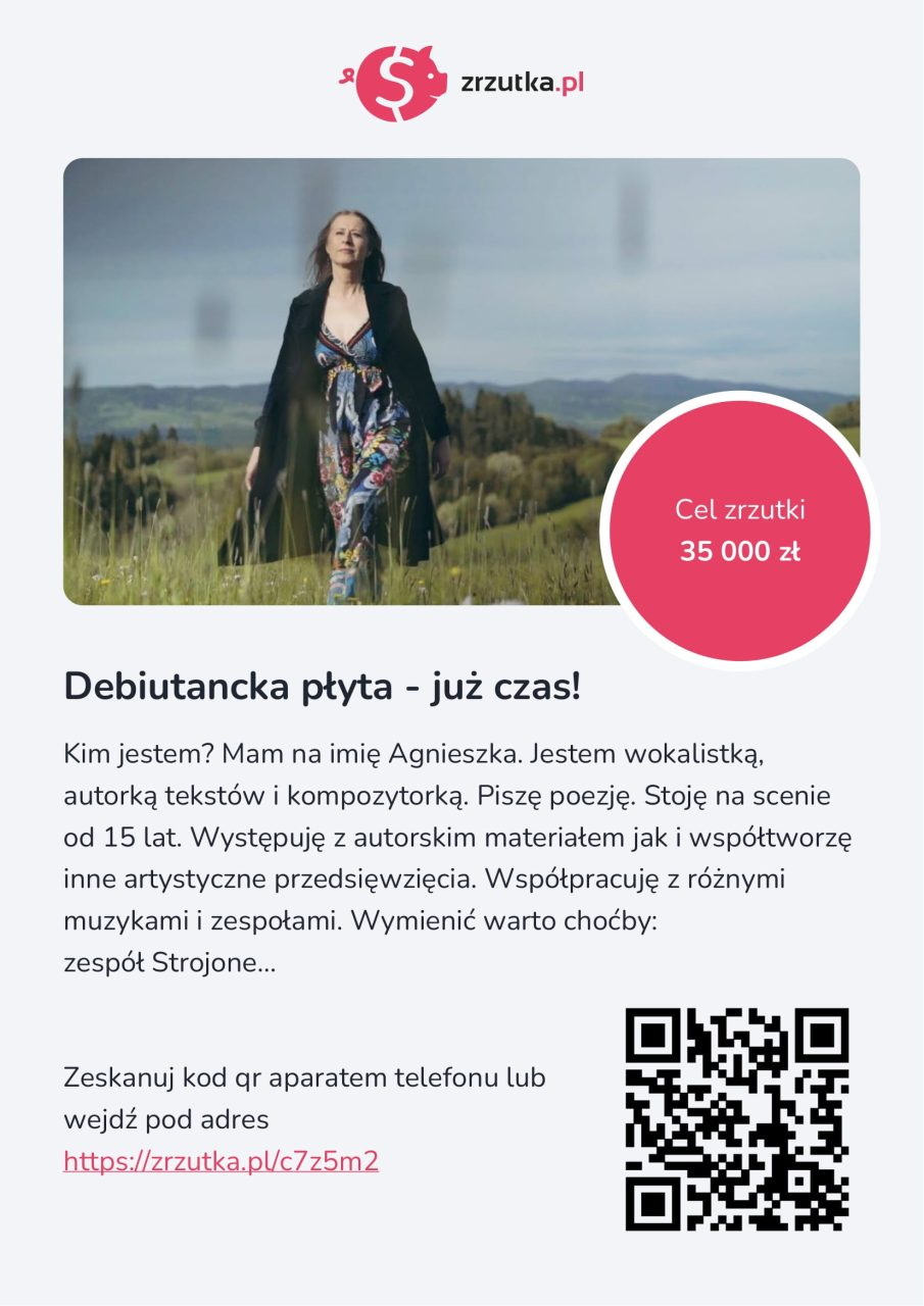 Dorzuć się do debiutanckiej płyty Agnieszki Banaś